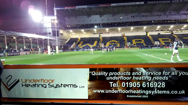 Underfloor Heating Systems Advertisement