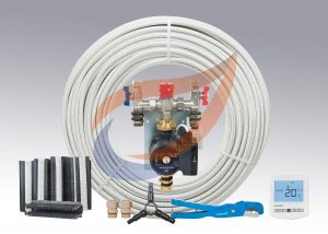 Underfloor Heating Kit Pack 2 for Warm Water
