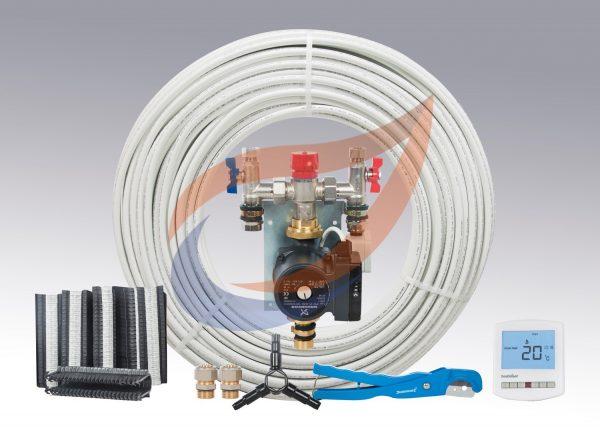 Underfloor Heating Kit Pack 2 for Warm Water