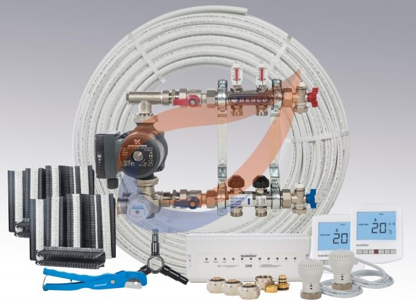 Underfloor Heating Kit Pack 6
