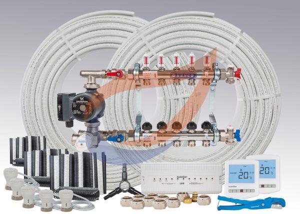 Underfloor Heating Kit Pack 11