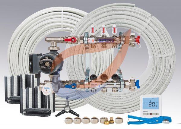 Underfloor Heating Systems Kit Pack 7