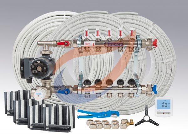 Underfloor Heating System Kit Pack 10