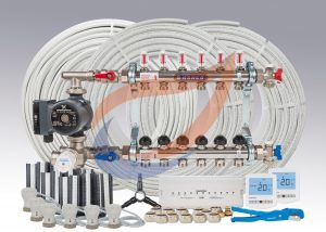 Underfloor Heating Kit Pack 12
