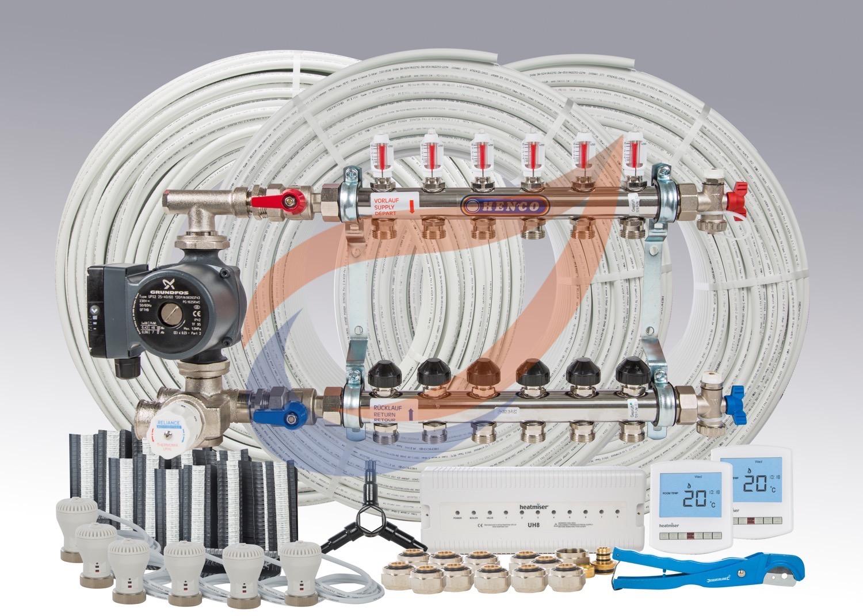 Underfloor Heating Kit Pack 12