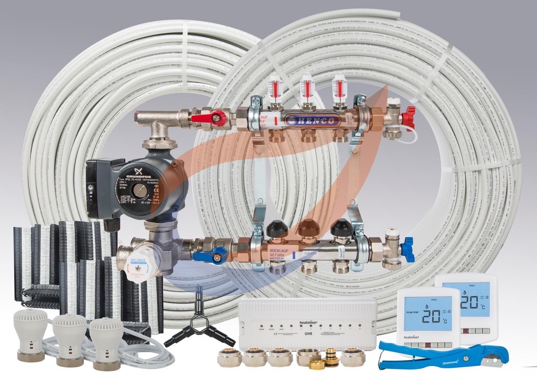 Underfloor Heating Kit Pack 9