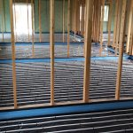 Installation of large multi zone underfloor heating system